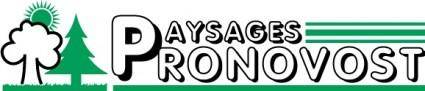 free vector Paysages Pronovost logo