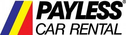 free vector Payless Car Rental logo