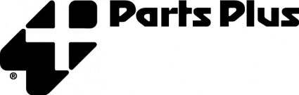 free vector Parts Plus logo