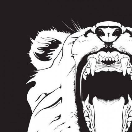 free vector Lion