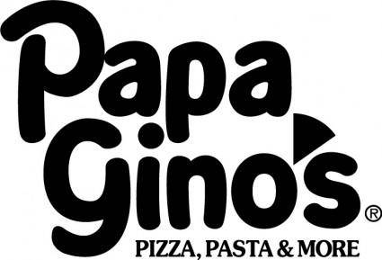 free vector Papa Ginos logo