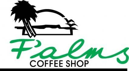 free vector Palms Coffee Shop logo