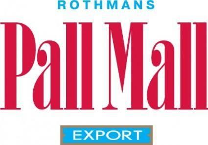 free vector PallMall color logo