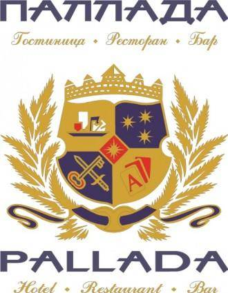 free vector Pallada Hotel logo