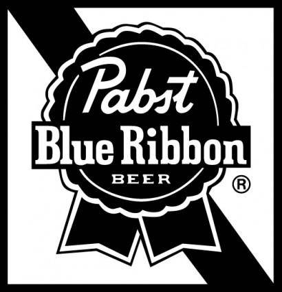 Pabst Blue Ribbon Beer  Pabst Font