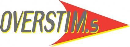 free vector Overstim logo