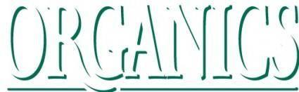 free vector Organics logo new