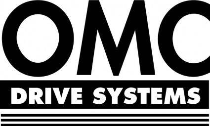 free vector OMC Drive Systems logo