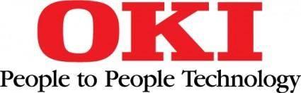 free vector OKI logo