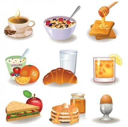 free vector Breakfast image 01 vector