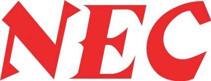 free vector NEC logo2