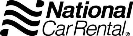 free vector National Car Rental logo