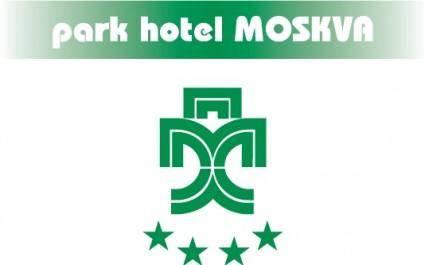 free vector Moskva park hotel logo