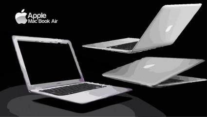 free vector MacBookAir