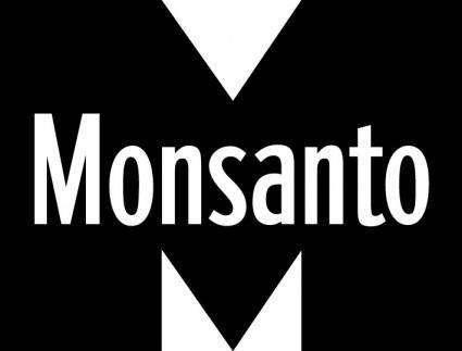 free vector Monsanto Chemical logo