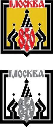 MOCKBA 850 logo