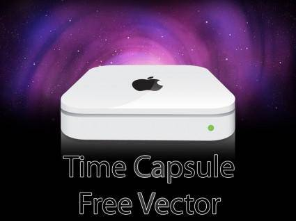 Free Time Capsule Vector