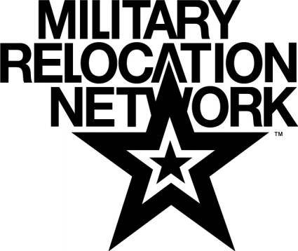 free vector Military Network logo