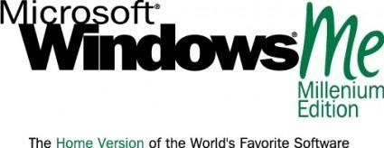 free vector Microsoft Windows Millenium