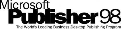 Microsoft Publisher98 logo
