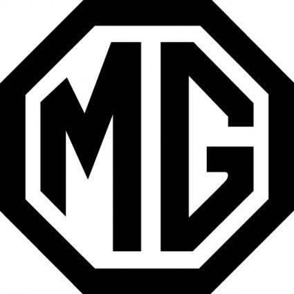 free vector MG logo