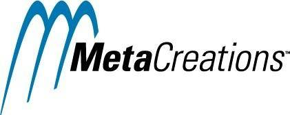 free vector MetaCreations logo