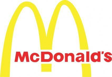 free vector McDonalds logo