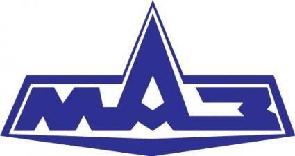 free vector MAZ auto logo