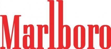 free vector Marlboro logo