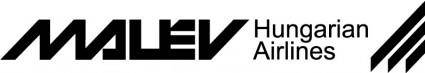 free vector Malev airlines logo
