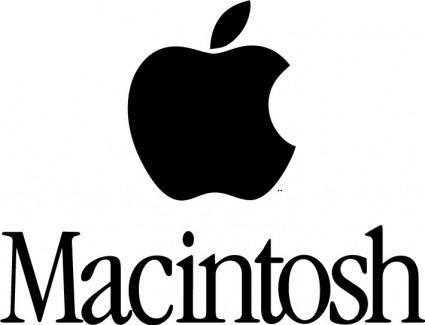 free vector Macintosh logo