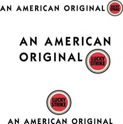 free vector Lucky Strike logo