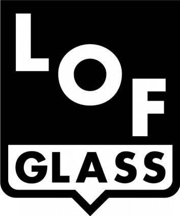free vector LOF Glass logo