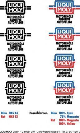 free vector Liqui Moly guideline