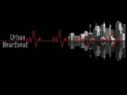 free vector Urban Heartbeat