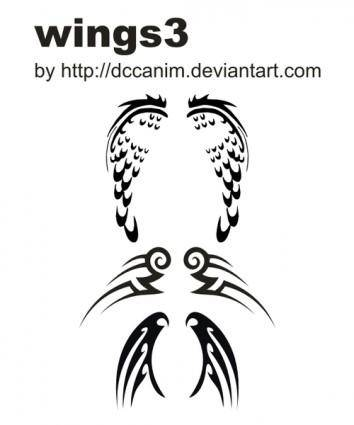 free vector Dccanim_wings3