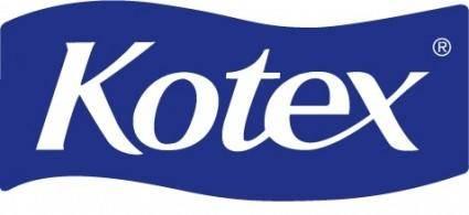 free vector Kotex logo P2755C