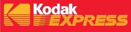 free vector Kodak Express logo