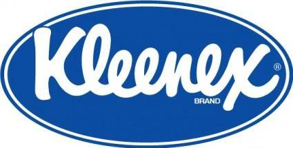 Kleenex oval logo big