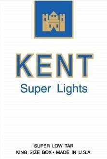 Kent Super Lights pack