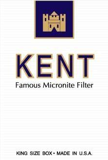 free vector Kent cigarettes pack