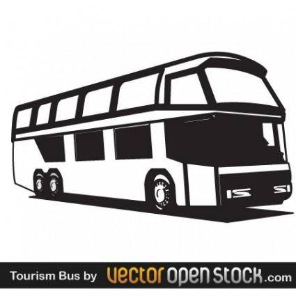 free vector Tourism Bus