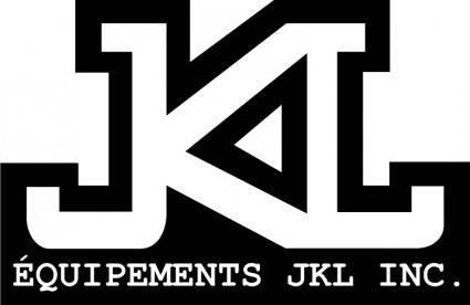 free vector JKL Equipments logo