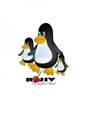 free vector Toon Penguin Vector