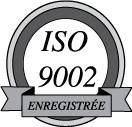 ISO9002 enregistree logo