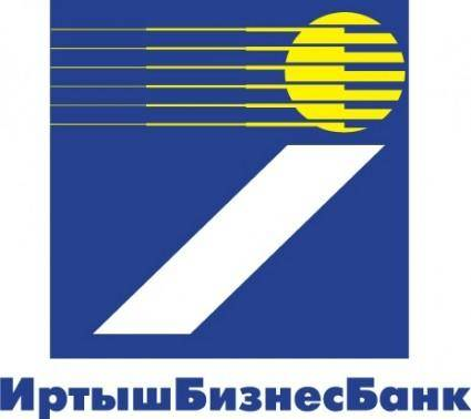 free vector Irtysh Business Bank logo