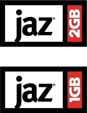 free vector Iomega JAZ logo