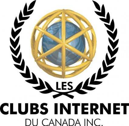 free vector Internet Club logo2