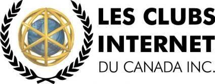 free vector Internet Club logo