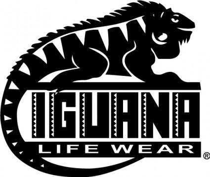 free vector Iguana logo